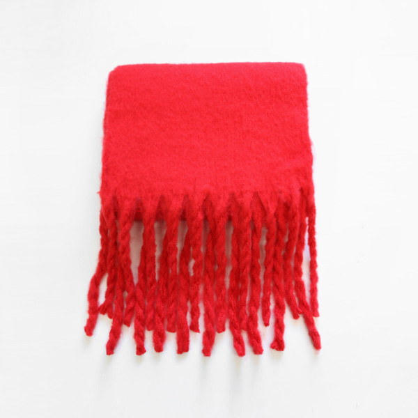 Twisted Fringe Edge Muffler