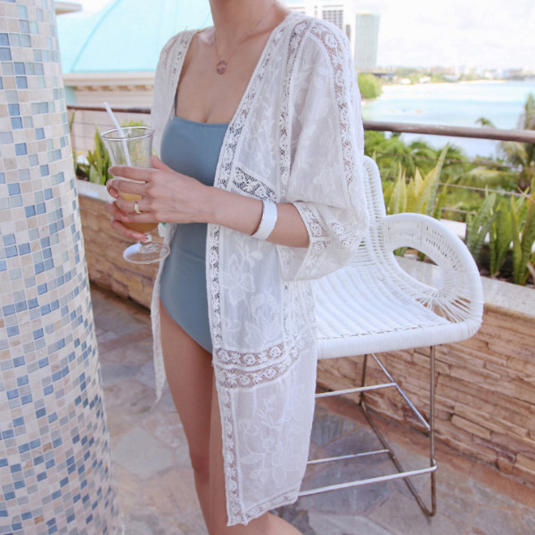Lace Beach Cover-Up