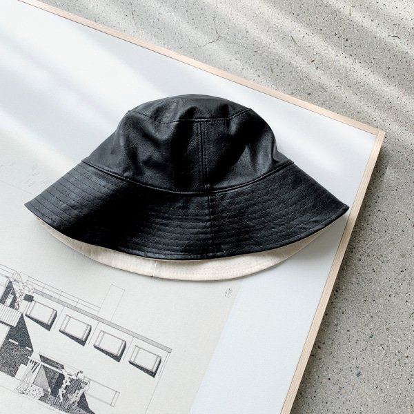 Stitched Brim Reversible Bucket Hat