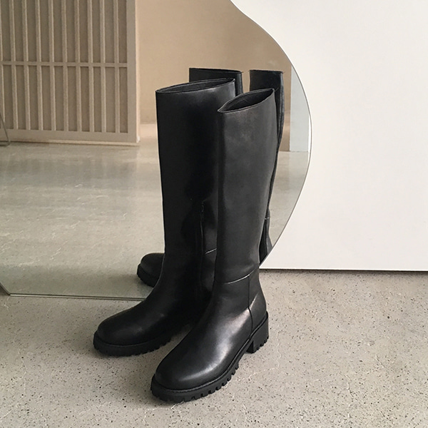 Cleated Sole Tall Boots