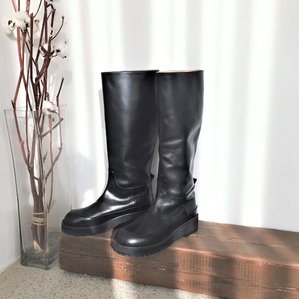 Thick Sole Tall Boots