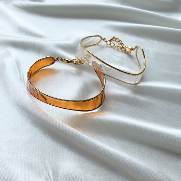 Clear Band Bracelet